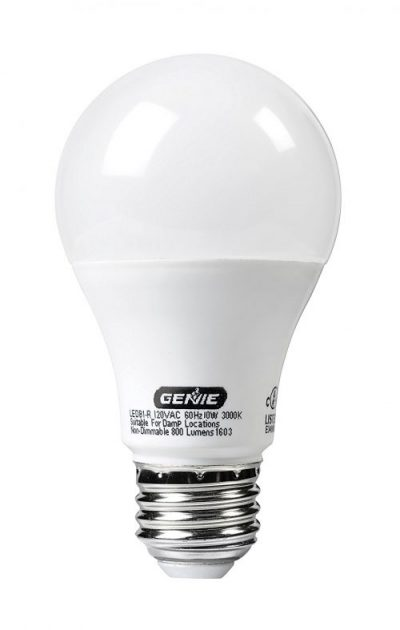 Genie garage door lightbulb